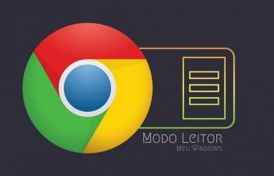 Ativar o modo leitor do Google Chrome