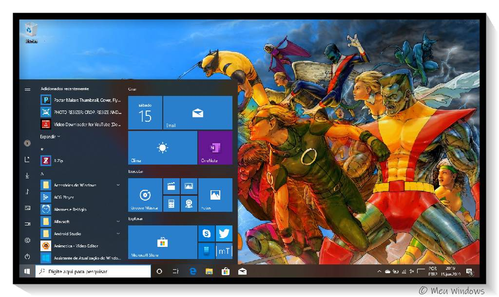 Tema X-Men para Windows 10