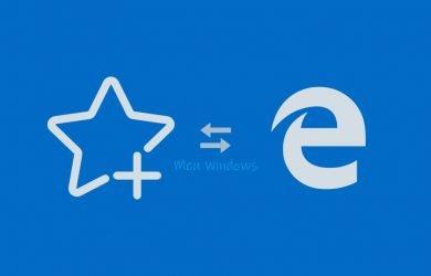 Importar favoritos de outro navegador para o Edge