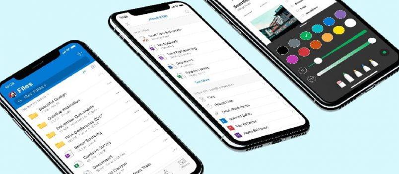 OneDrive para iOS recebe novo design e novos recursos