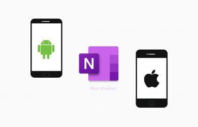 OneNote para Android e iOS