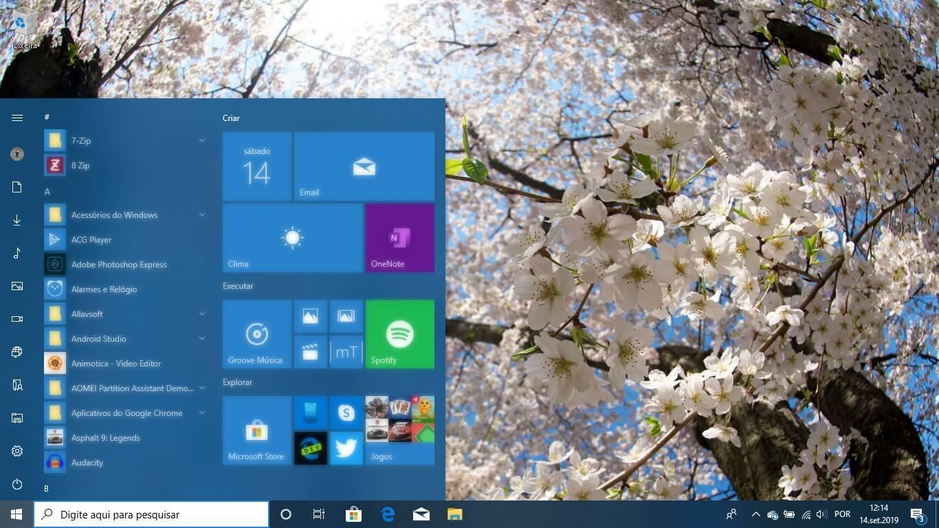 Tema Primavera 4K no  Windows 10