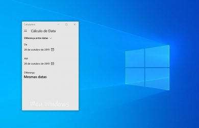 Use a Calculadora do Windows 10 para calcular datas facilmente 1