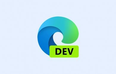 Novo logotipo do Microsoft Edge Dev