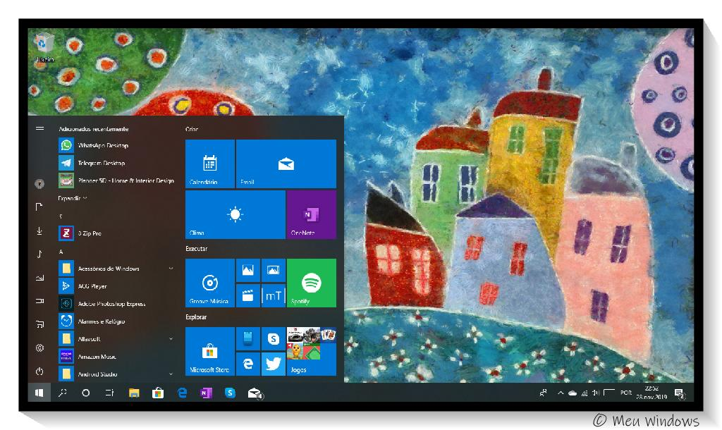 Tema Arte Moderna 4K para Windows 10.