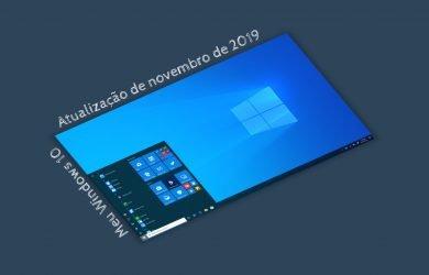 Atualização do Windows 10 de novembro de 2019