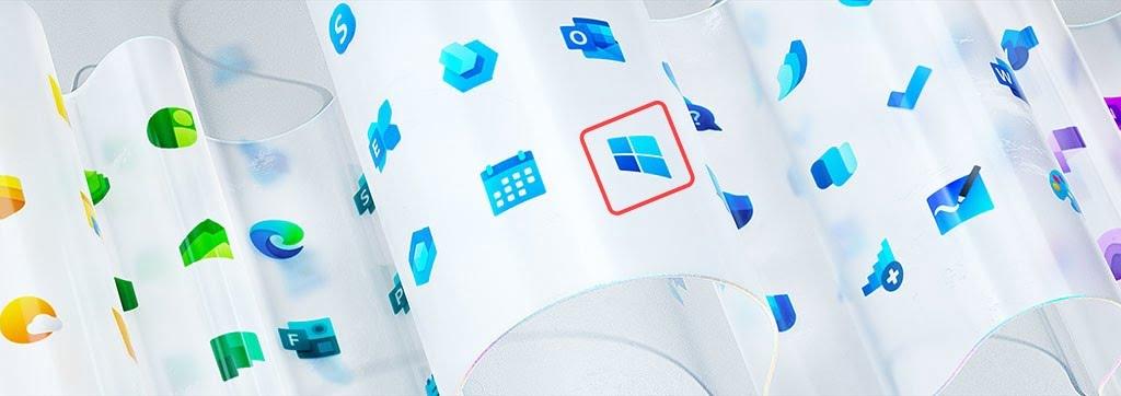 Microsoft pode ter vazado o novo logotipo do Windows 10 1