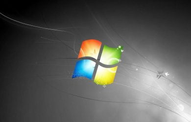 Windows 7 Background Black