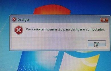 Você não tem permissão para desligar o computador [Solução] 1