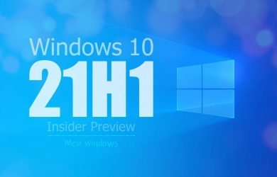 Windows 10 Insider Preview Build (21H1)