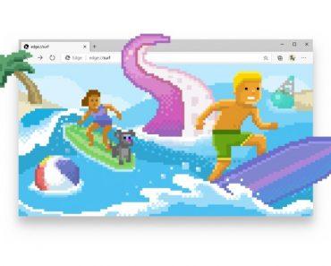 Jogo de surf do Microsoft Edge já está disponível para todos