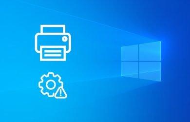 Corrigir o spooler de impressão no Windows 10