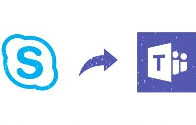 Interoperabilidade entre o Microsoft Teams e o Skype.