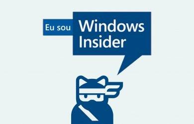 Eu sou Windows Insider
