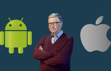 Bill Gates prefere Android em vez de iOS