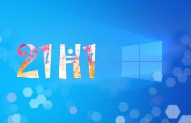 Windows 10, versão 21H1