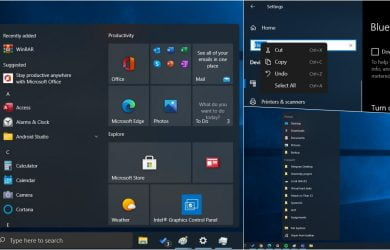 Windows 10 deve ganhar menu Iniciar flutuante, cantos arredondados e muito mais 1