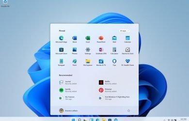 Primeira versão do Windows 11
